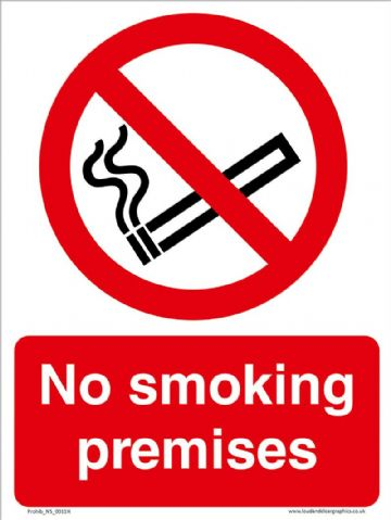 No smoking premises